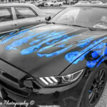 Galen's Auto Body | Blue Flames Custom Paint Job
